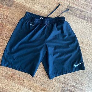 Nike Dri-Fit Running Shorts Black Medium